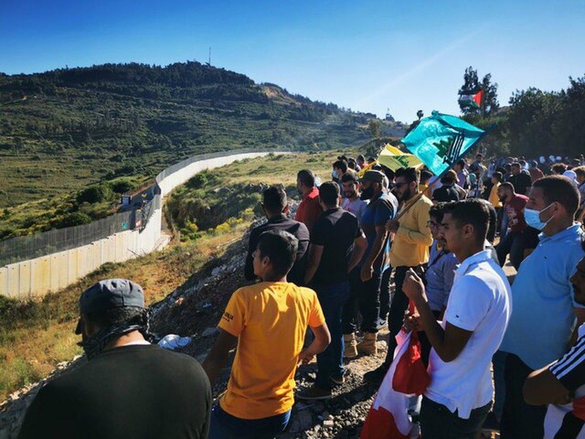 ارتش رژیم صهیونیستی ۵ تظاهرکننده لبنانی را در مرزهای جنوبی مصدوم کرد