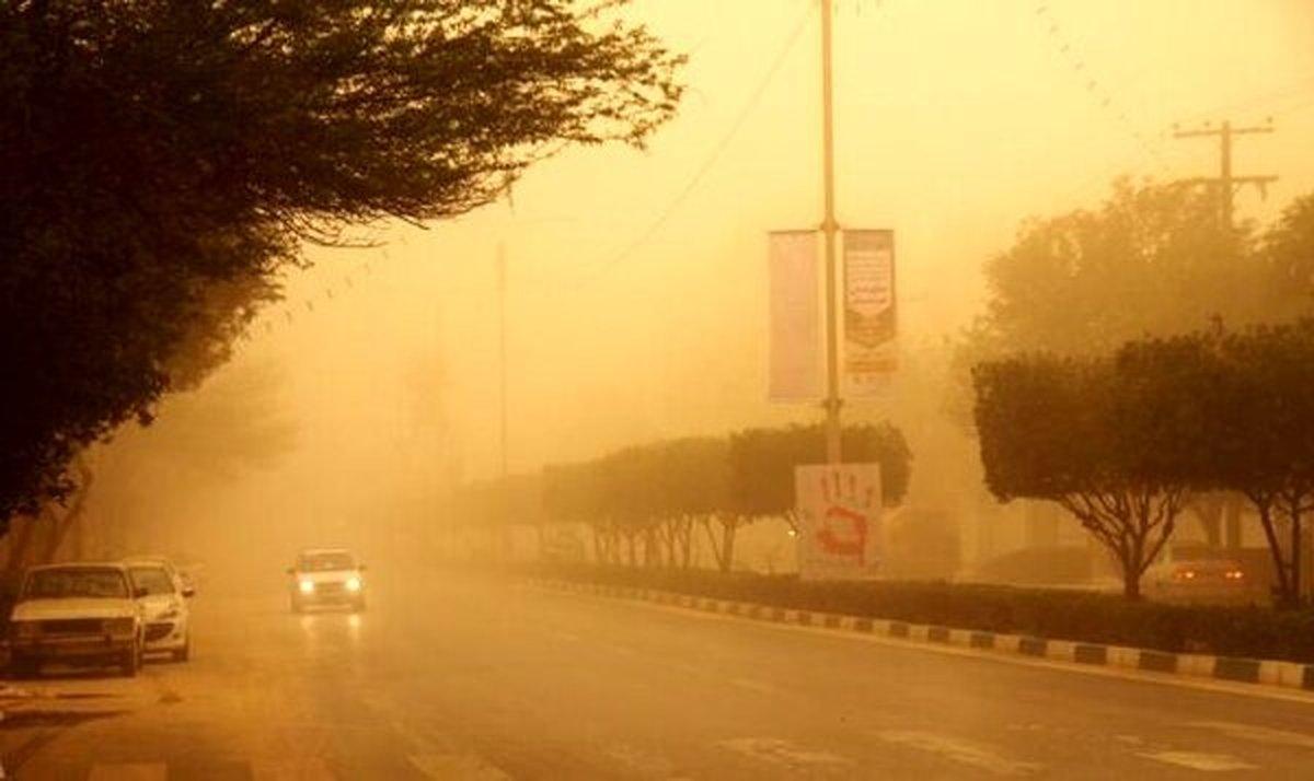 هشدار | تهران تا ساعتی دیگر غرق در گرد و غبار شدید میشود | درخانه بمانید