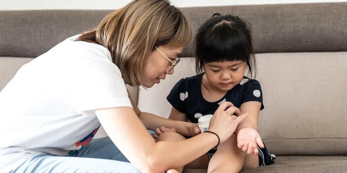 درمان خانگی خارش نیش پشه