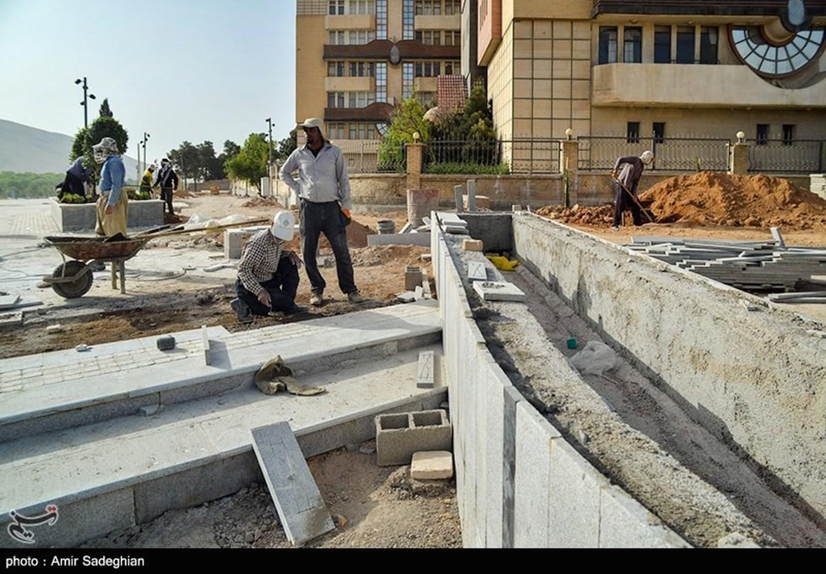 پیاده راه در دست ساخت استاد شجریان +عکس