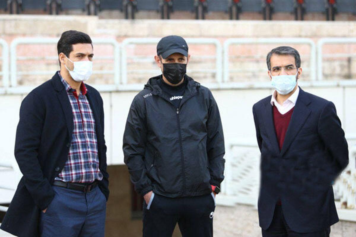 پرسپولیس  | مدیرعامل پرسپولیس از راه دور گل محمدی راحمایت کرد