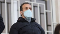 علی کریمی برای ثبت نام رسمی در انتخابات در فدراسیون فوتبال حاضر شد