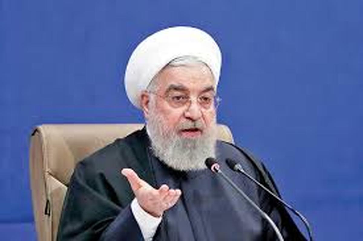 روحانی خطاب به آمریکا       خجالت نکشند تسلیم در برابر قانون کار خوبی است