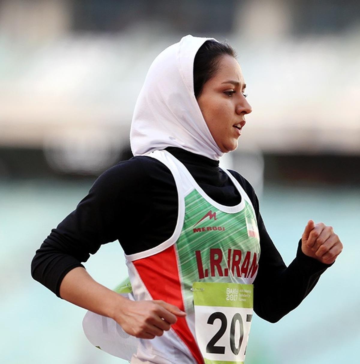 دوندهی زن ایرانی  |  فرزانه فصیحی به یک تیم صربستانی پیوست