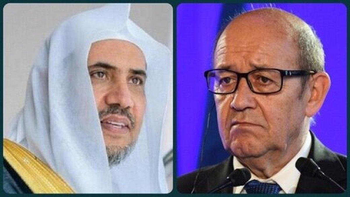 وزیر خارجه فرانسه     پاریس برای دین اسلام احترام قائل است.