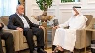 رایزنی هنیه و وزیر خارجه قطر درباره تحولات فلسطین