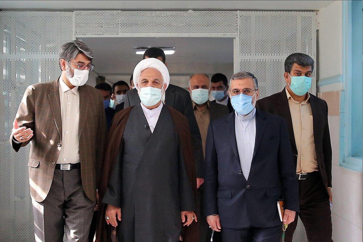 آزادی ۱۰۱ زندانی همزمان با سفر رئیس قوه قضائیه به استان البرز