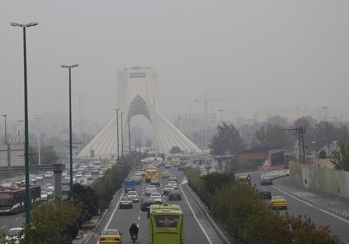 هوای تهران با شاخص آلودگی ۱۵۲ در شرایط ناسالم است.
