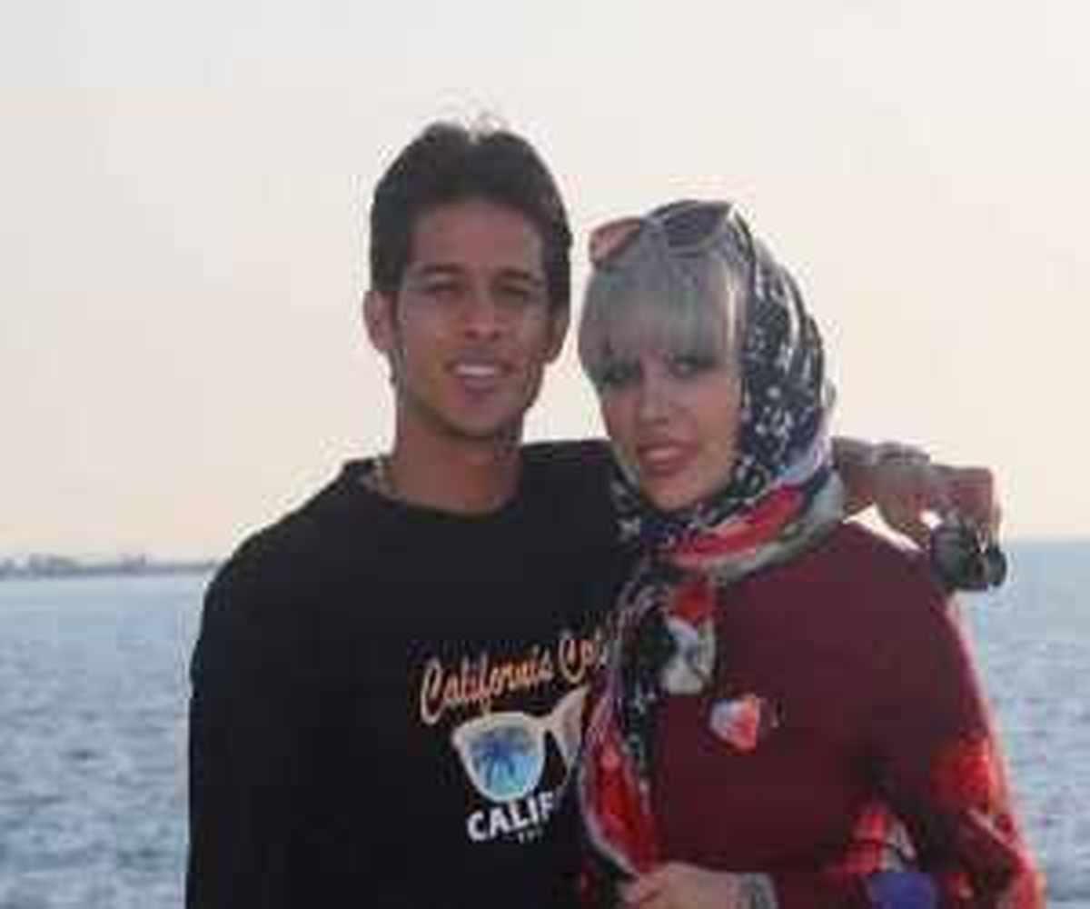 مهدی قائدی و همسرش در جشن تولد لاکچری خواهر همسرش + عکس