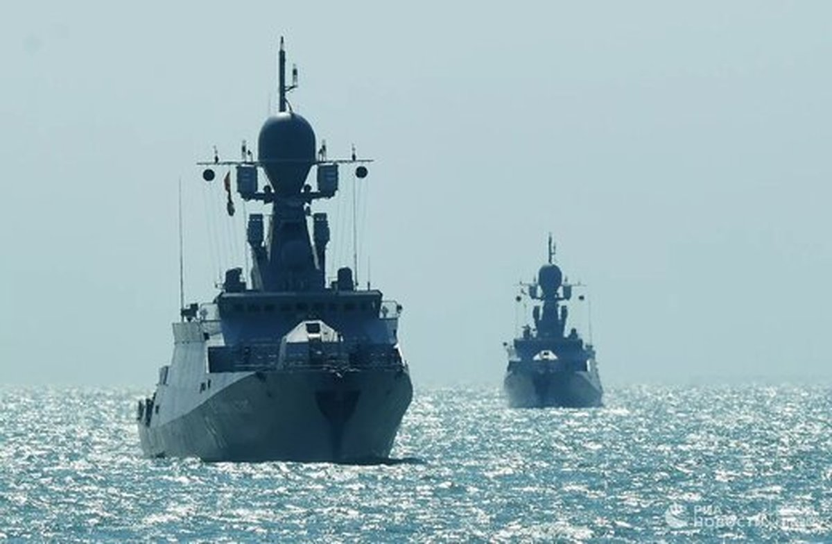 تغییر مقر ناوگان روسیه در دریای خزر