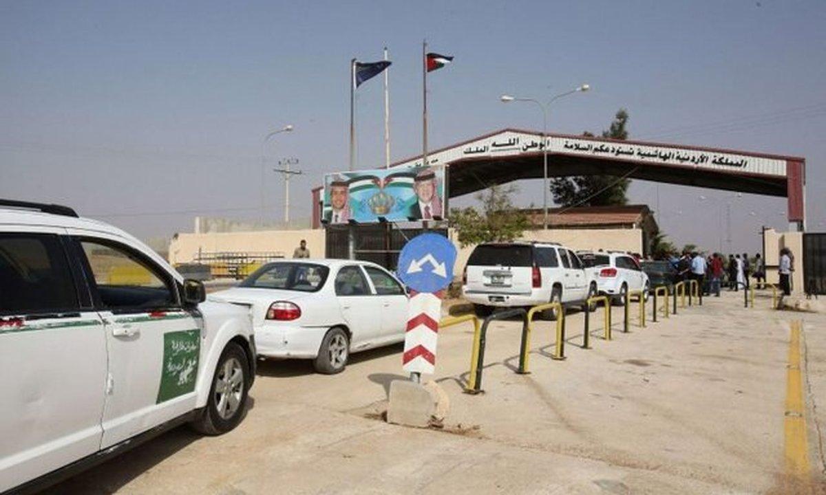بازگشایی گذرگاه مرزی اردن با سوریه از چهارشنبه