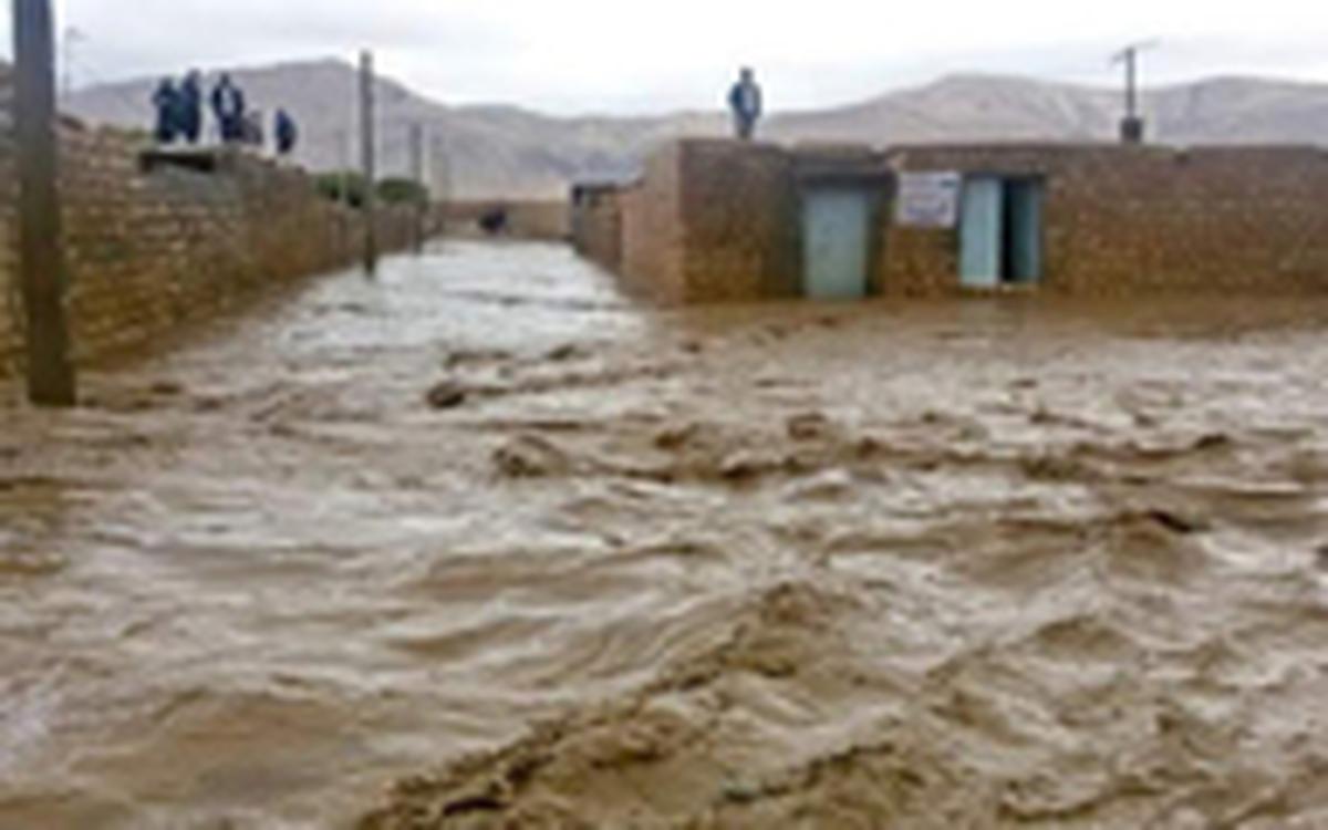 هشدار سیلاب در مازندران