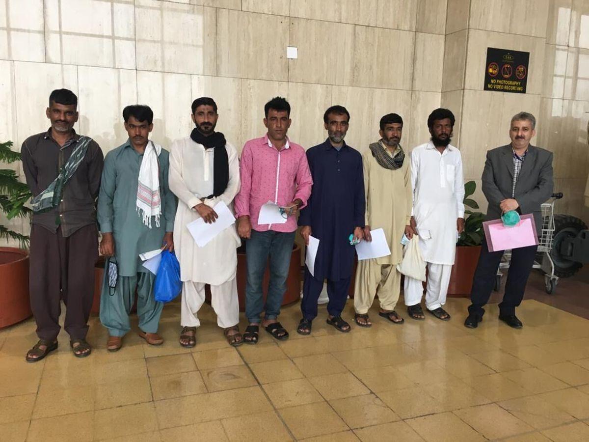 پاکستان |  صیادان ایرانی آزاد شدند