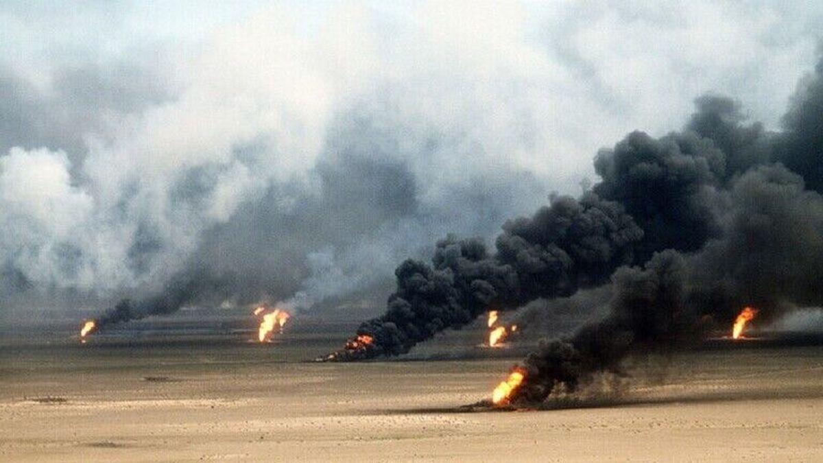 حمله ی داعش به چاه های نفت در شمال عراق