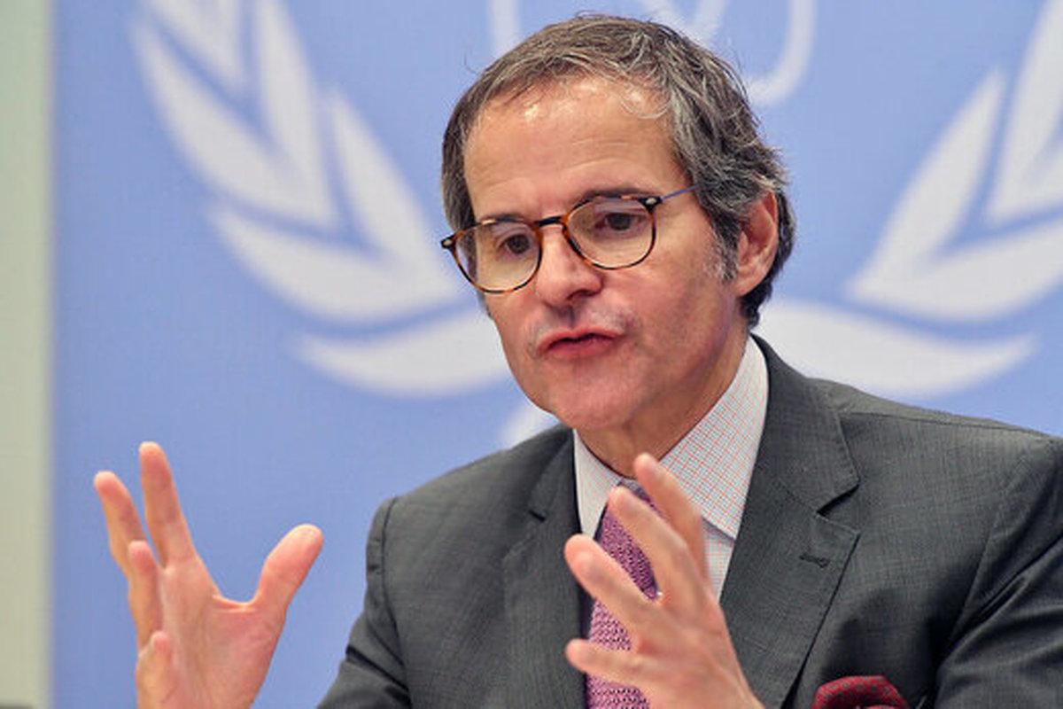 گروسی:  ادامه فعالیتها به صورت دوجانبه با ایران