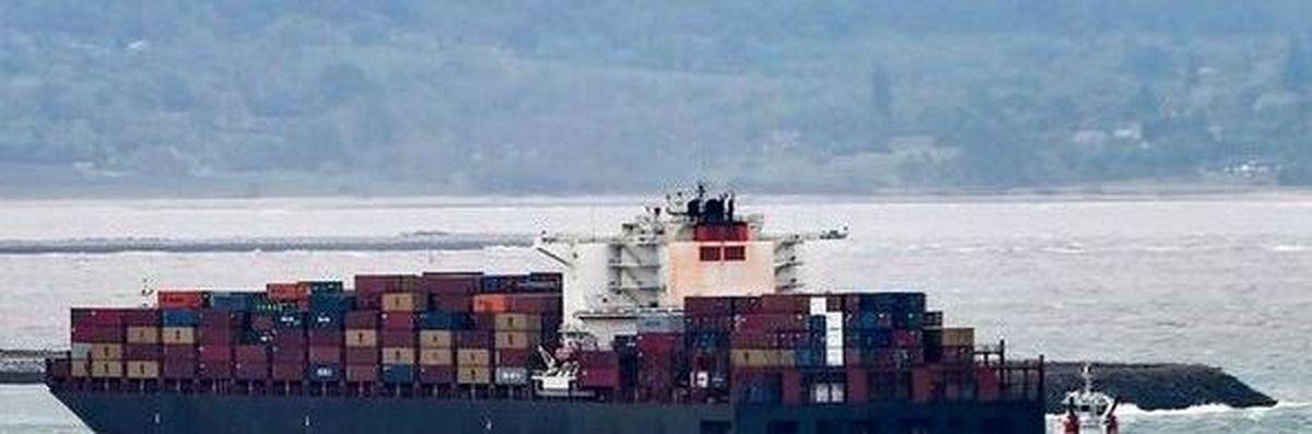نزاع منطقهای ایران و اسرائیل  |  حمله به یک کشتی تجاری