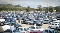 بازار خودرو در حال ریزش است