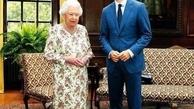 فرش زیبای  ایرانی، زیرپای ملکه بریتانیا و نخستوزیر کانادا