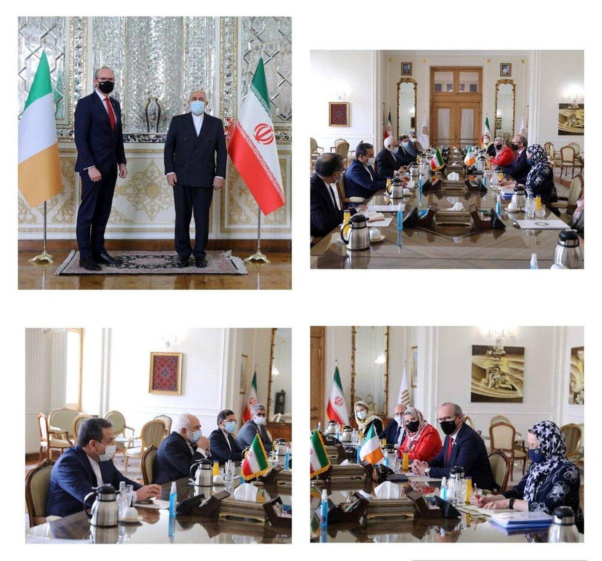 جزئیات دیدار وزرای خارجه ایران و ایرلند