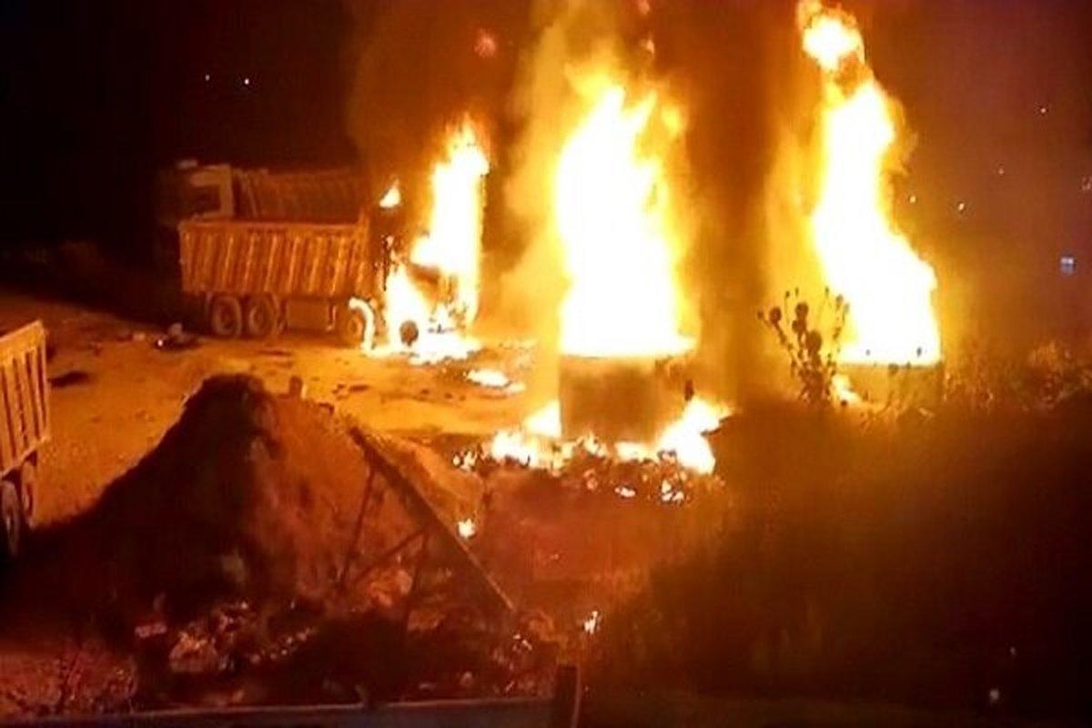 انفجار مهیب در لبنان با 20 کشته و 80 زخمی + عکس