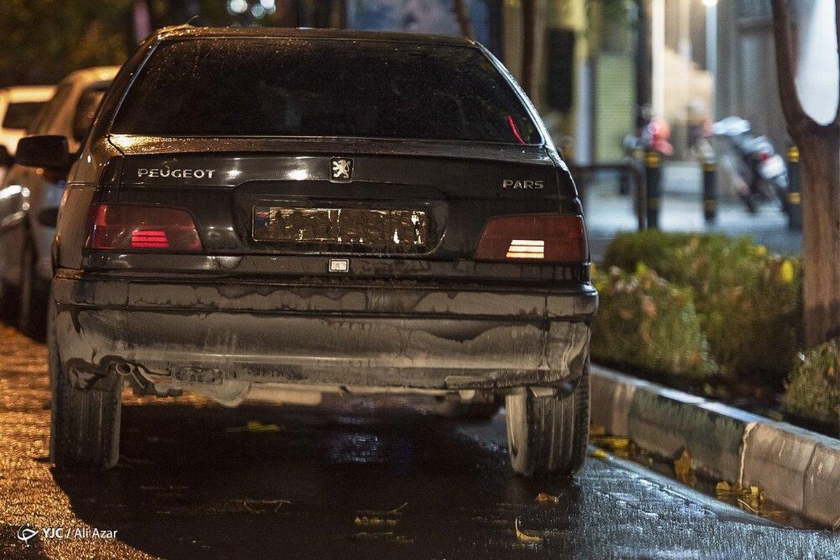 مخدوش کردن پلاک ، تخلفات شبانه رانندگی در ایام کرونا