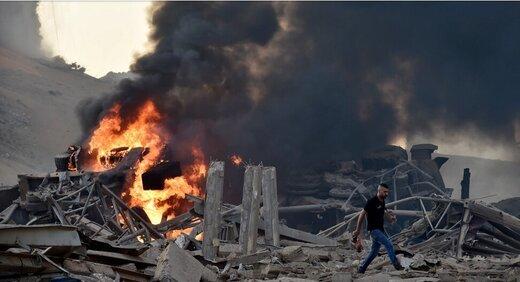 رژیم صهیونیستی |  خوشحالی رهبر یک حزب اسرائیلی از انفجار بیروت!