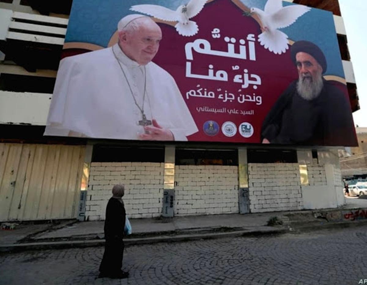 «زائر صلح» با چه هدفی پا به عراق گذاشت؟    دیدار تاریخی پاپ با آیتالله سیستانی