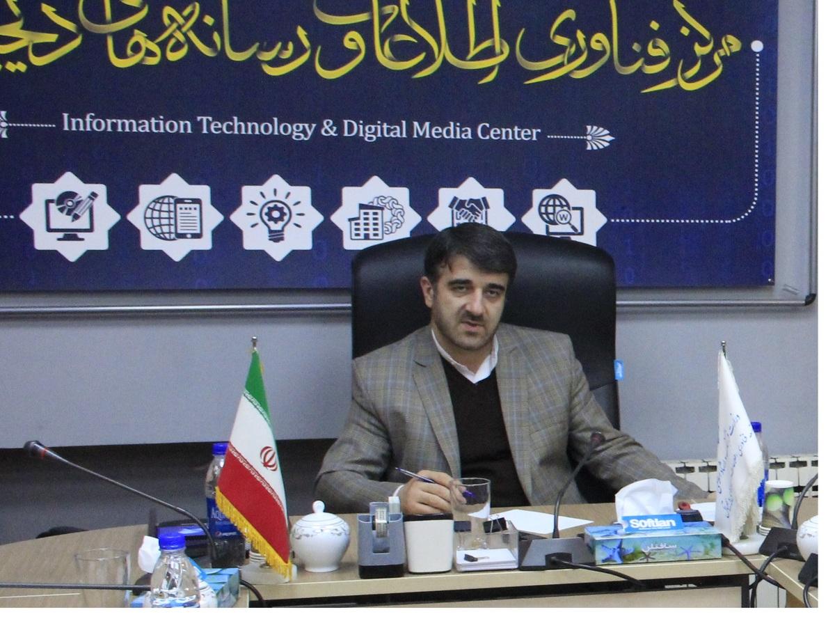 رئیس مرکز فناوری اطلاعات و رسانه های دیجیتال وزارت ارشاد در افتتاحیه سومین همایش ملی سواد رسانه ای و اطلاعاتی