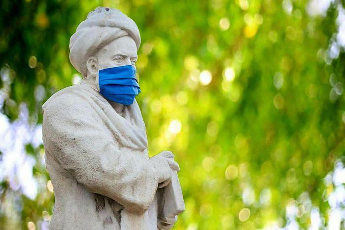 ماسک |  بوعلی سینا هم ماسک زد+عکس