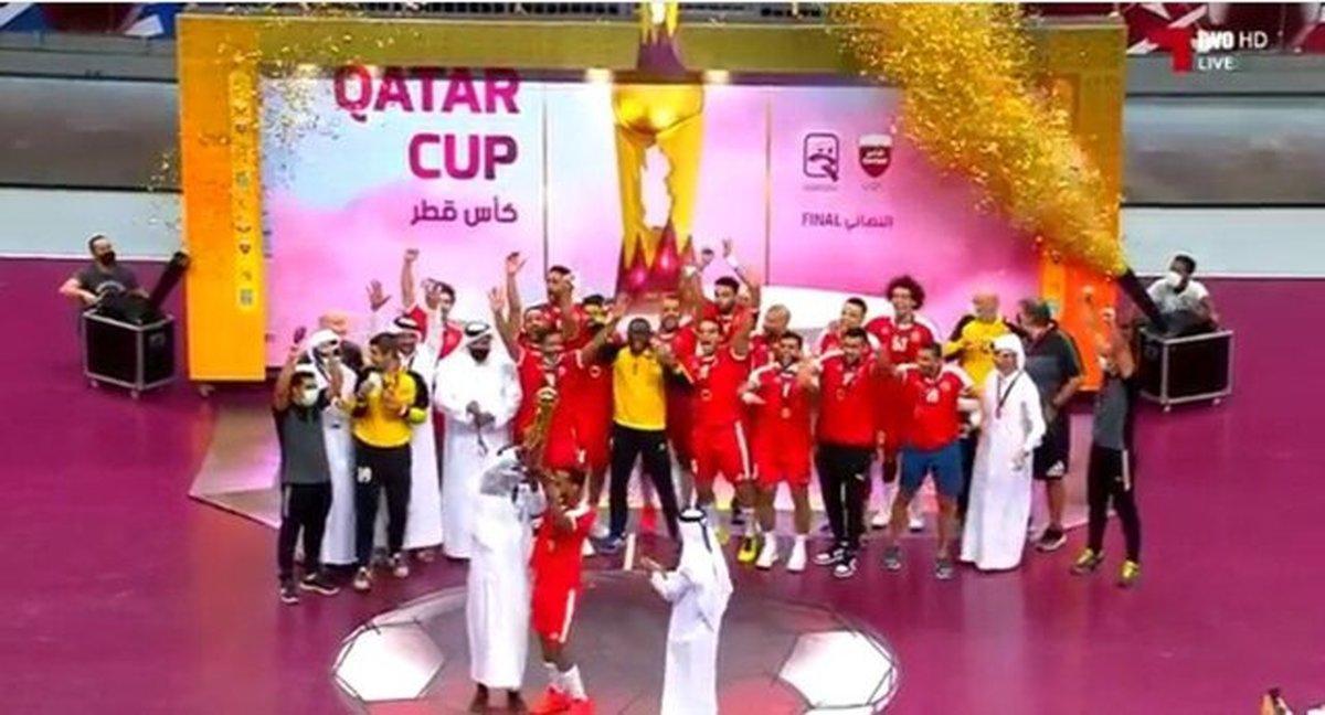 قهرمانی یاران برخورداری در جام هندبال قطر کاپ