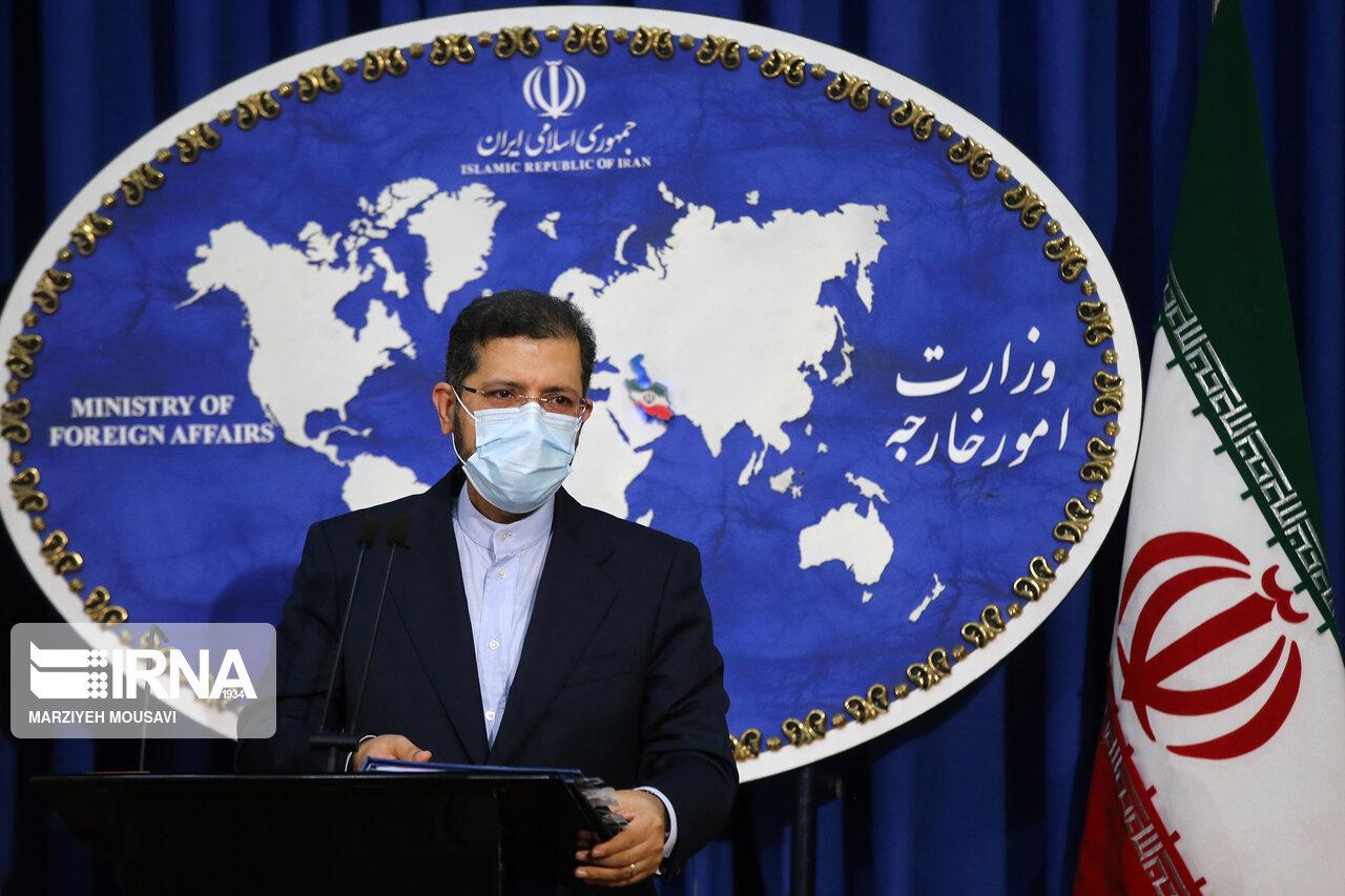 خطیبزاده: اجازه استفاده از خاک ایران برای انتقال سلاح را نمیدهیم