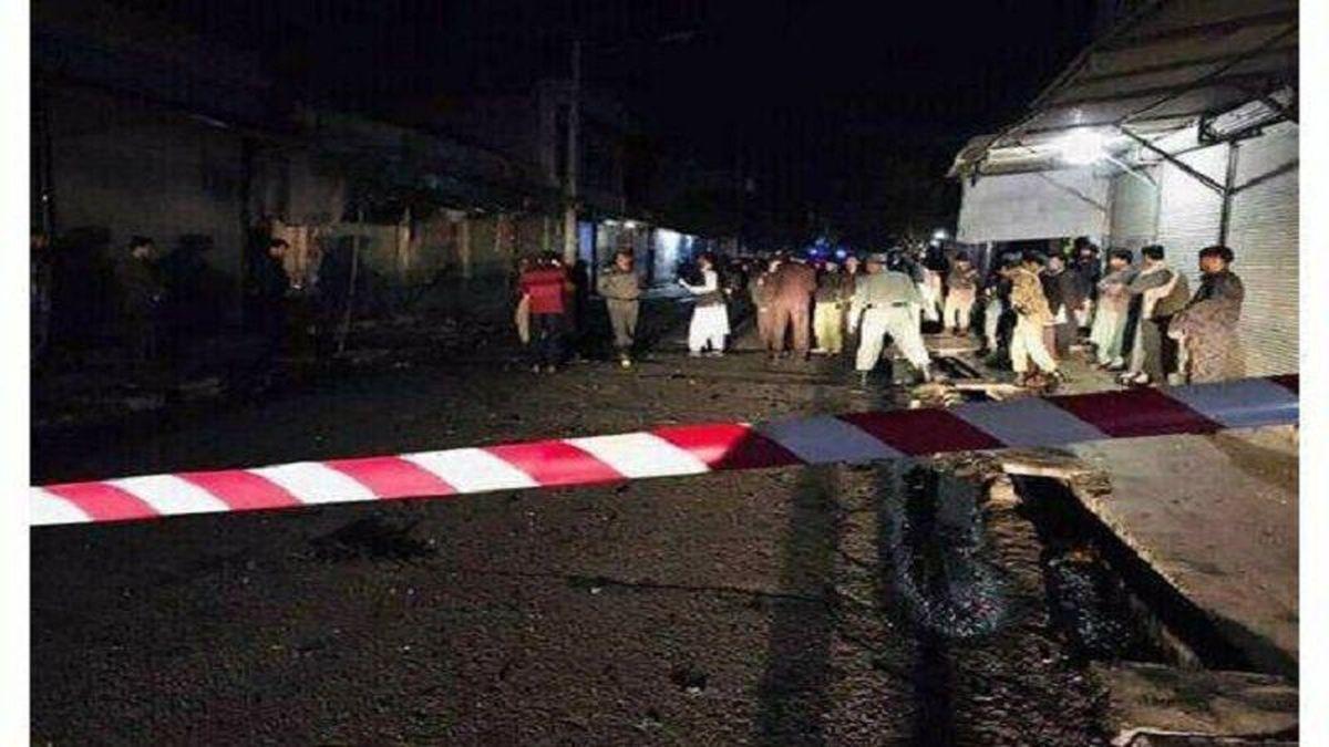 افغانستان  |  وقوع انفجار مهیب ۵ زخمی بر جای گذاشت