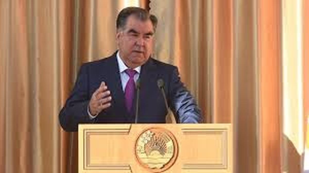 رئیسجمهوری   امامعلی رحمان برای پنجمین بار درانتخابات پیروز شد