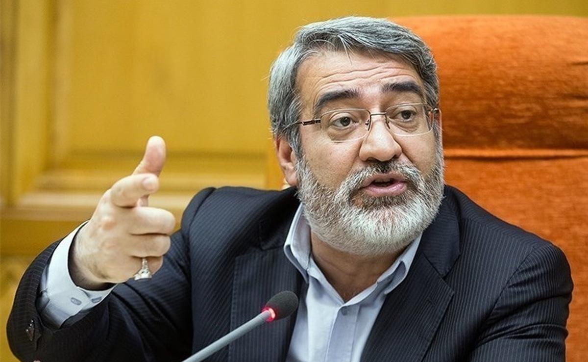 وزیر کشور: وزارت بهداشت دستورالعمل مقابله با کرونای هندی را سریعتر تدوین کند