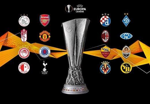 لیگ اروپا  |  جدال منچستر و میلان در یک هشتم نهایی