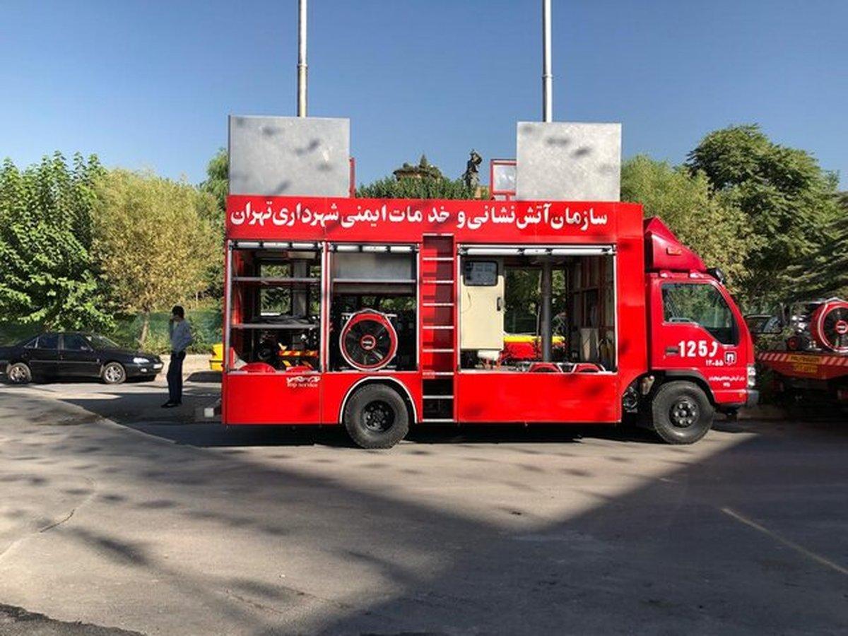 استقرار آتشنشانی در ۱۹۶ نقطه از تهران در روز ۱۳ فروردین