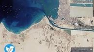 ترافیک کشتیها در کانال سوئز+عکس