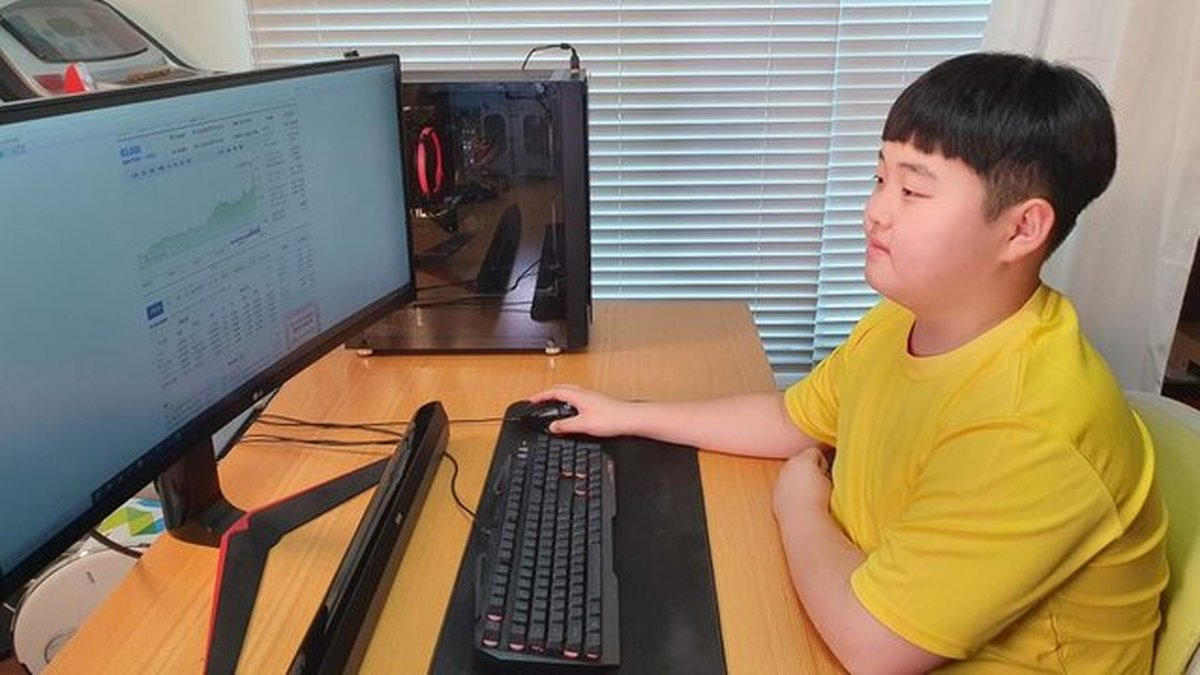 پسر ۱۲ ساله کره ای از بورس میلیونر شد!