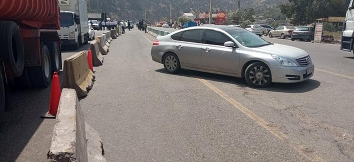 ممانعت از ورود ۲۰ هزار خودرو به گیلان