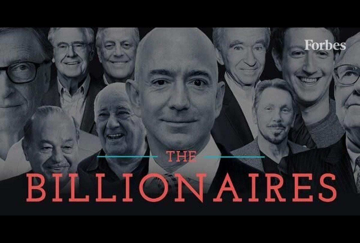 ثروتمندترین مردان و زنان جهان را بشناسید