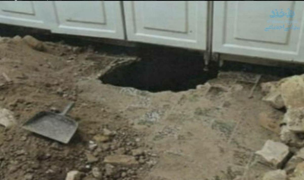 سرقت از منزل همسایه با حفر تونل در یزد!