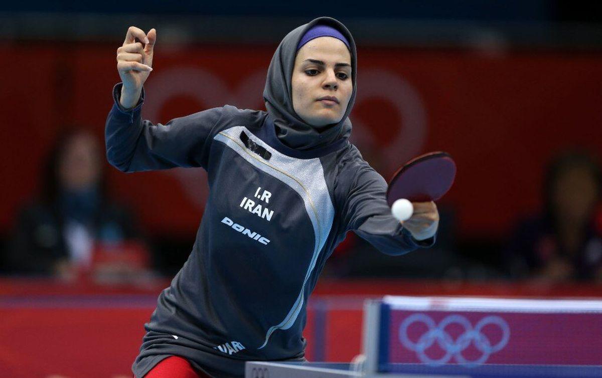 یک برد و یک باخت برای زنان پینگپنگ ایران در قهرمانی آسیا