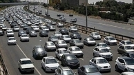 ترافیک سنگین در محور فیروزکوه و دماوند