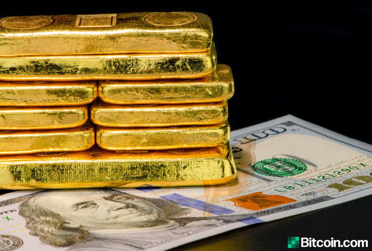افزایش قیمت طلا و تضعیف دلار