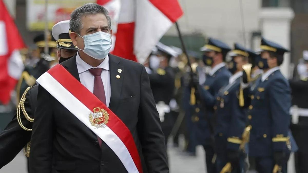 استعفای رئیس جمهور موقت پرو