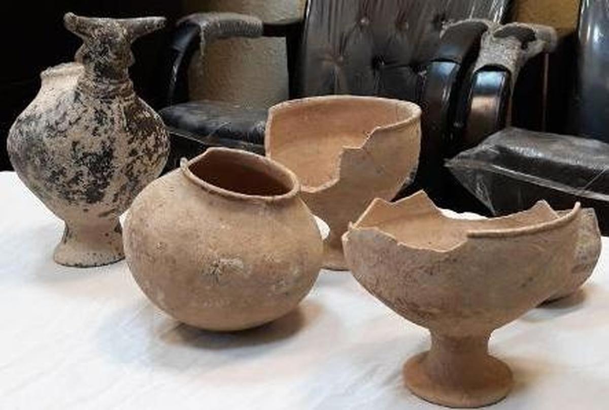 عتیقههای ۴ هزار ساله در رودسر