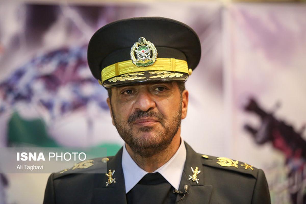 هشدار فرمانده نیروی پدافند هوایی ارتش به دشمن  حتی نزدیک شدن به مرزهای ایران به شدت پاسخ داده میشود