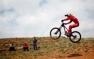 مسابقات دوچرخهسواری دانهیل در تبریز