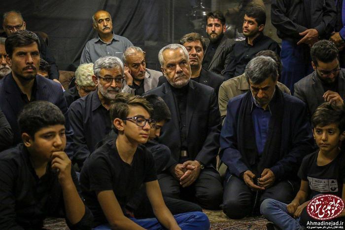 اولین دیدار احمدینژاد و معاون اولش پس از زندانی و آزاد شدن رحیمی