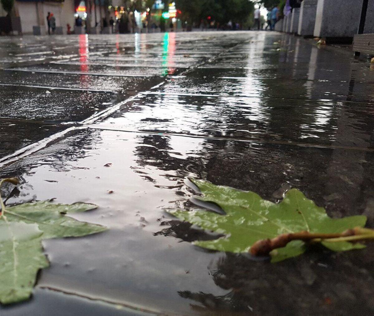 استانی که در تابستان ۴۵ برابر زمستان بارش داشت